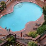 Outdoor heated pool from our 5th floor balcony!