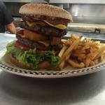 "Awesome burger ""big daddy burger"" must try!"