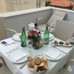 Private lunch on own terrace