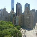 Columbus Circle and Central Park view