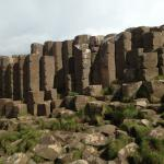 Giants causeway not far from Buncrana