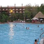 The main pool are of Jambo House