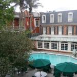 Courtyard Area and Outdoor Pool