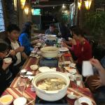 The hot pot restaurant in the complex