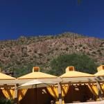 camelback view from pool