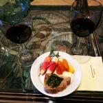 Sample from the 4pm wine tasting