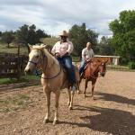 Horse Back Riding - It was my first time
