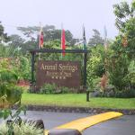 resort sign