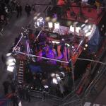 View of stages below - Ryan Seacrest