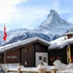 Snow Covered Mountains - Zermatt