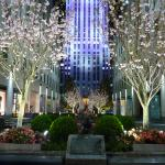 The spectacular Rockefeller Centre after DZ's after-party