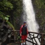 Paz waterfall very strenuous and stay with the group