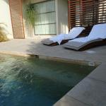 Plunge pool at Suite