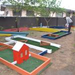 Play a game of mini golf with friends
