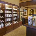 Spa shop and reception