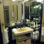 Master bathroom of The Presidential Suite 35A.