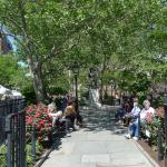 Abingdon Square Park, close by - there are several other parks around