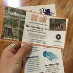 Coupon for adventure!