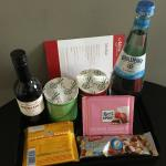 Goodies from minibar