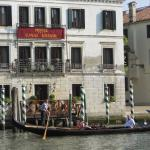The Hotel Grande Canal with private dock for drinks at sunset or morning coffee
