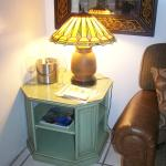 La Cascada Living Room Stained Glass Lamp