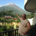Arenal from our balcony
