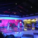 Performance by the African Acrobats at the hotel