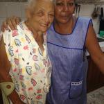 Juana (lovely staff) and Dominga (originally her home)