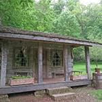 Small pioneer home - These are real buildings from the 1800s