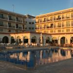 Hotel Flamenco Conil at sunset