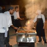Hotel chefs busy with BBQ