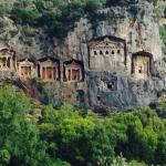 Dalyan, tombs, hotel grounds, beach and the coast!