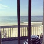 From Oceanfront Queen room #348