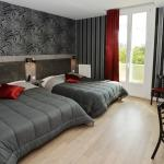 chambre twin famille