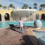 Pool area at Hilton Grand Vacations Suites complex in Orlando