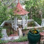 Gazebo near Fountain