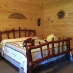 King bed - Cabin 12