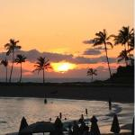 Sunset - one of the pleasures of Hawaii