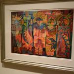 Variety of Art on Loan in Kimo Theatre Lobby