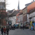 City Centre of Northeim with Hotel on the right side