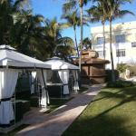 Westgate South Beach cabanas