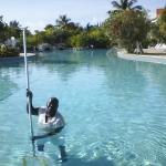 You can use the fabulous spool at Taino Beach resort!