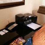 printer provided in room