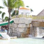 Large waterpark at Colonial pool