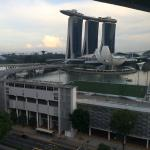 Nice view of the Marina Bay Sands