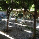 Great courtyard inviting you to hang out.