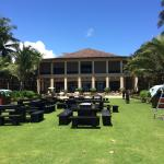 Lovely lawns surrounding main building, this was a super venue for a big party