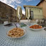 Prosecco and snacks by the river