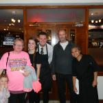 Us with the restaurant staff