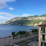 Taken from 3rd floor ocean front looking towards Minori and Ravello up above